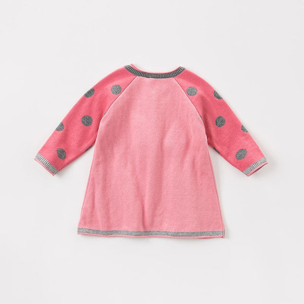 autumn infant baby girls fashion top kids toddler pullover children boutique knitted sweater | KIDZOYA