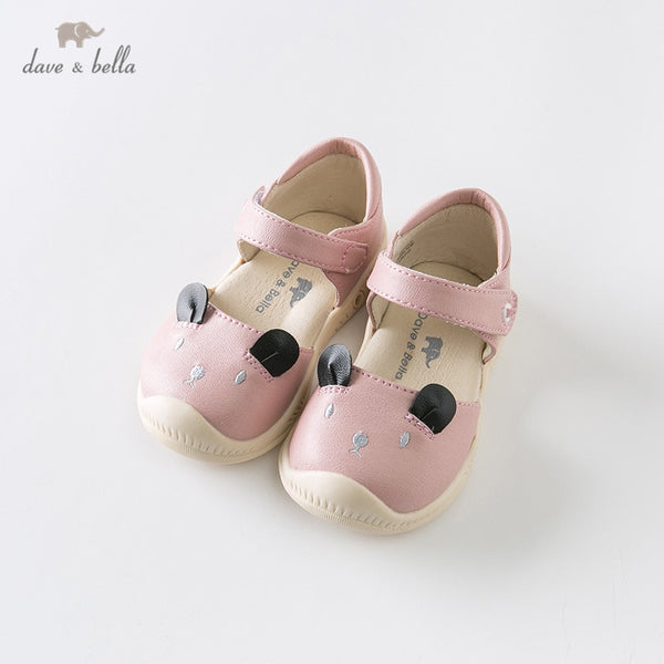 DB12635 Summer Baby Girls Fashion Sandals New Born Infant Shoes