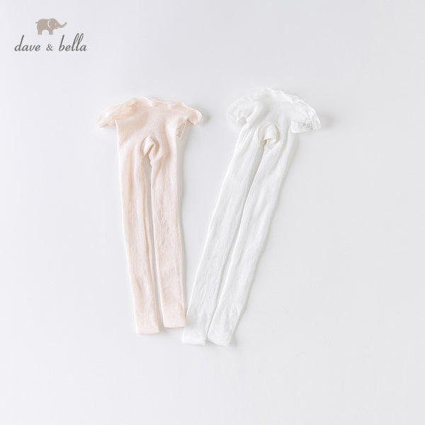 DB13988 Summer Infant Cute Baby Girls Lolita Solid Leggings | KIDZOYA