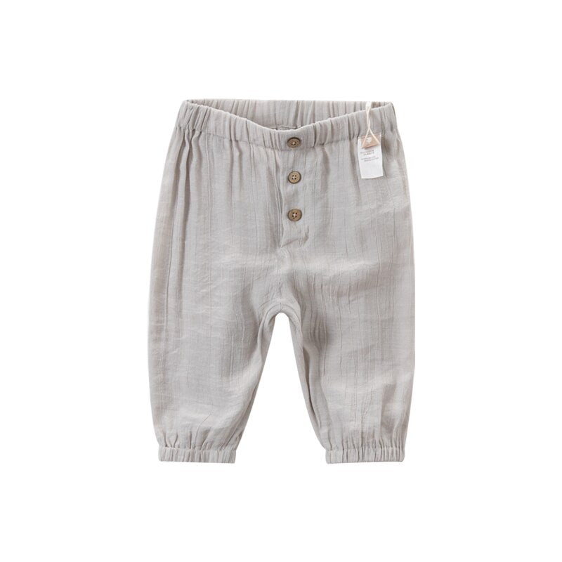 DBX14024 Summer Baby Unisex Fashion Solid Pants Handsome