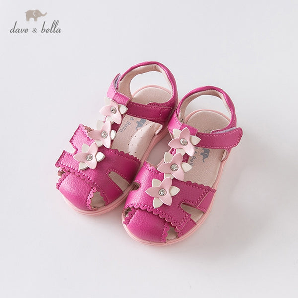 DB12910 Summer Baby Girls Fashion Sandals New Born Infant Shoes