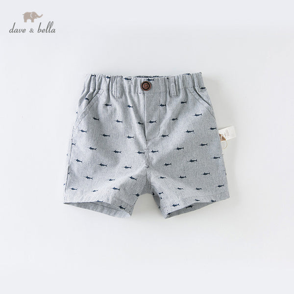 DB13798 Summer Baby Boy Shorts Children Shorts Length Infant Toddler | KIDZOYA