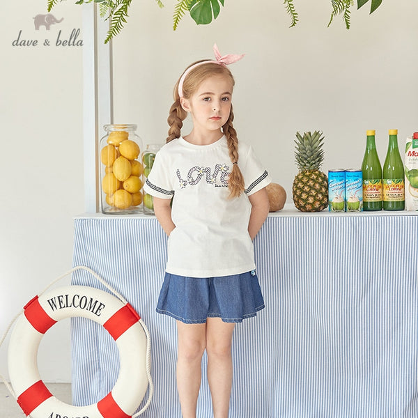 DKH13285 Summer Kids Clothes Fashion T-shirt Girls