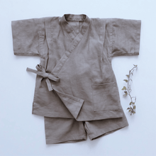 Load image into Gallery viewer, Wheat Linen Jinbei