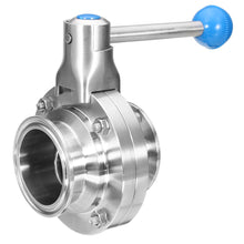 Load image into Gallery viewer, Sanitary Butterfly Valve  ( Manual)