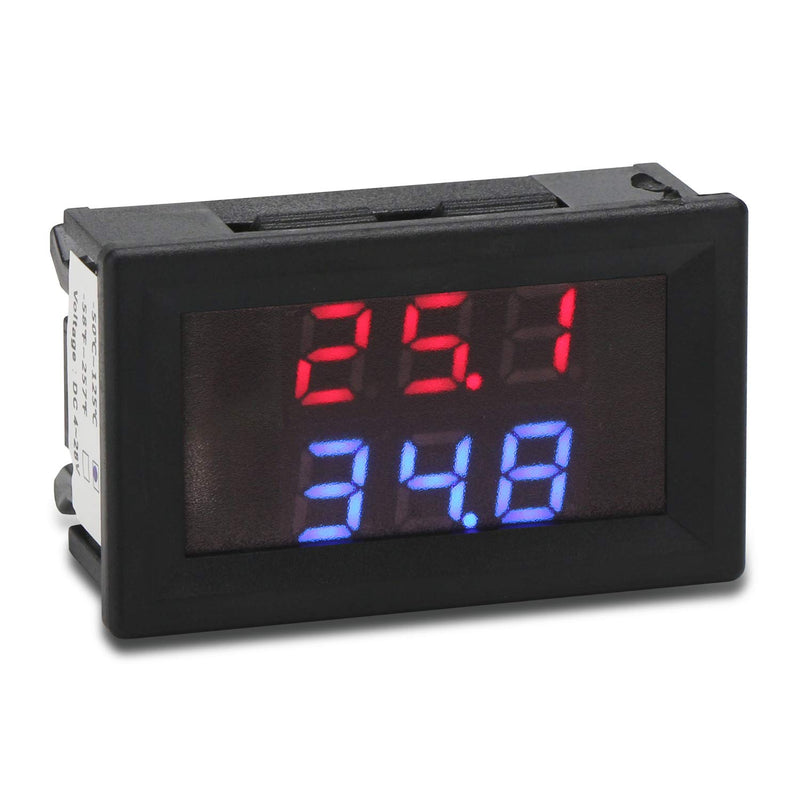 DROK -50 to +125 Degree Celsius Temperature Meter