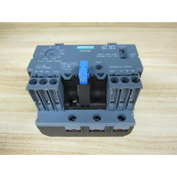 Siemens 48ATB1S00 ESP200 Solid State Overload Relay 3UB8813-4BB2