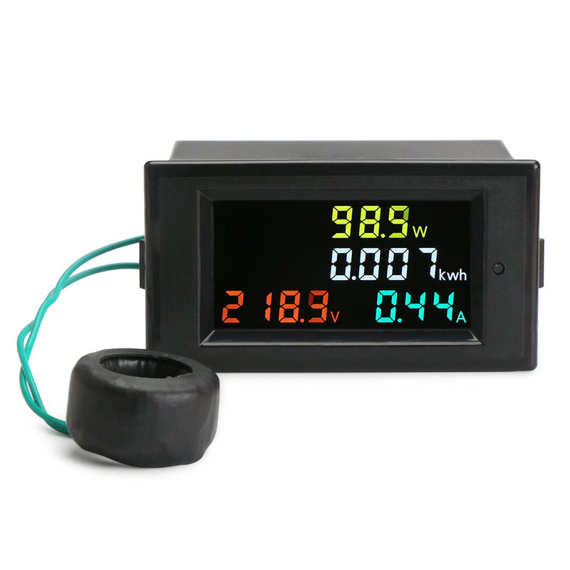 DROK AC 80-300V 100A Volt Amp Power Energy Meter
