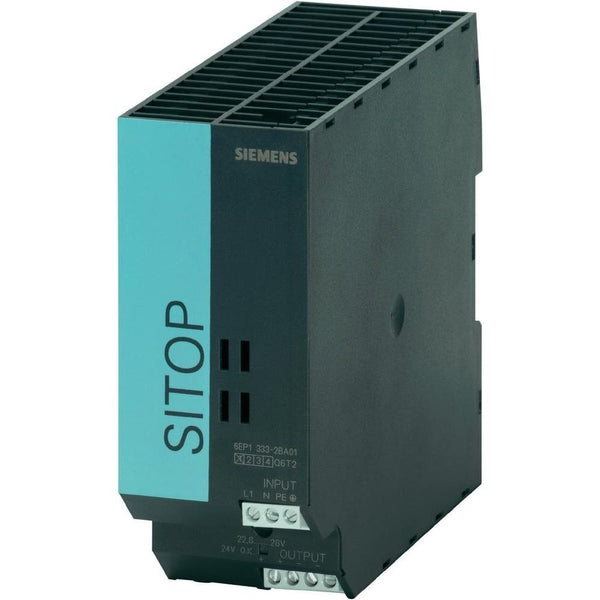 Siemens 6EP1333-2AA01 SITOP smart DIN Rail Power Supply 24Vdc 5A 120W, 1-Phase