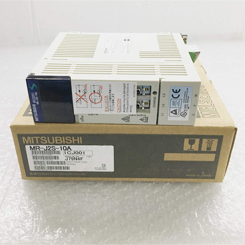 Mitsubishi AC Servo Amplifier MR-J2S-10A PLC