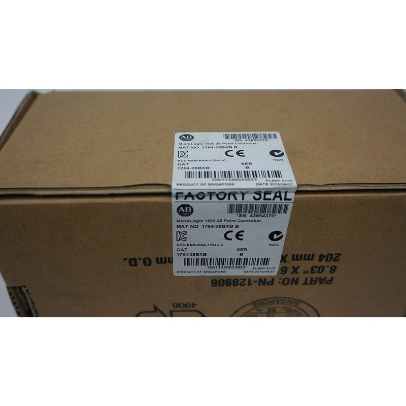 NEW SEALED ALLEN BRADLEY 1764-28BXB MICROLOGIX SERIES B MFG: 2015