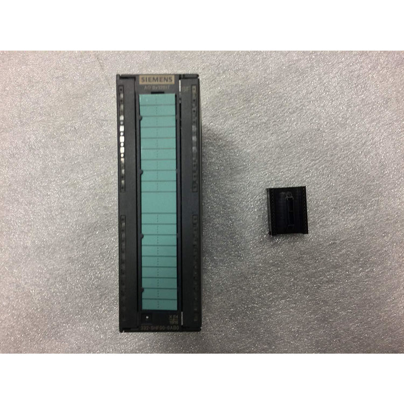 Siemens 6ES7 332-5HF00-0AB0 SIMATIC S7-300, ANALOG OUTPUT SM 332, OPTICALLY ISOLATED, 8 AO, U/I; DIAGNOSTICS; RESOLUTION 11/12 BITS, 40 PIN, REMOVE/INSERT W. ACTIVE, BACKPLANE BUS
