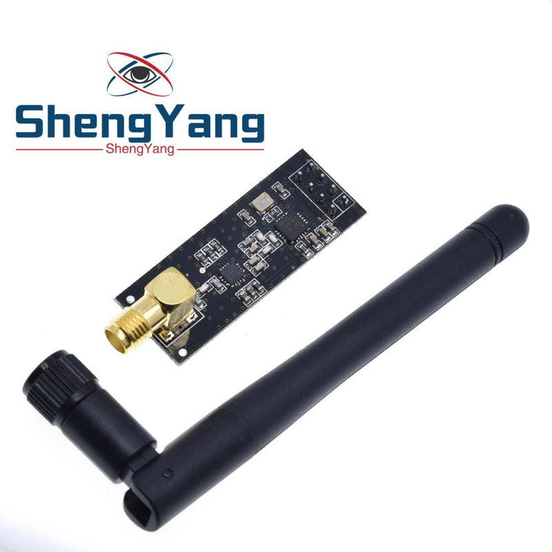 Free Shipping ShengYang  NRF24L01+PA+LNA Wireless Module with Antenna 1000 Meters Long Distance FZ0410 We are the manufacturer