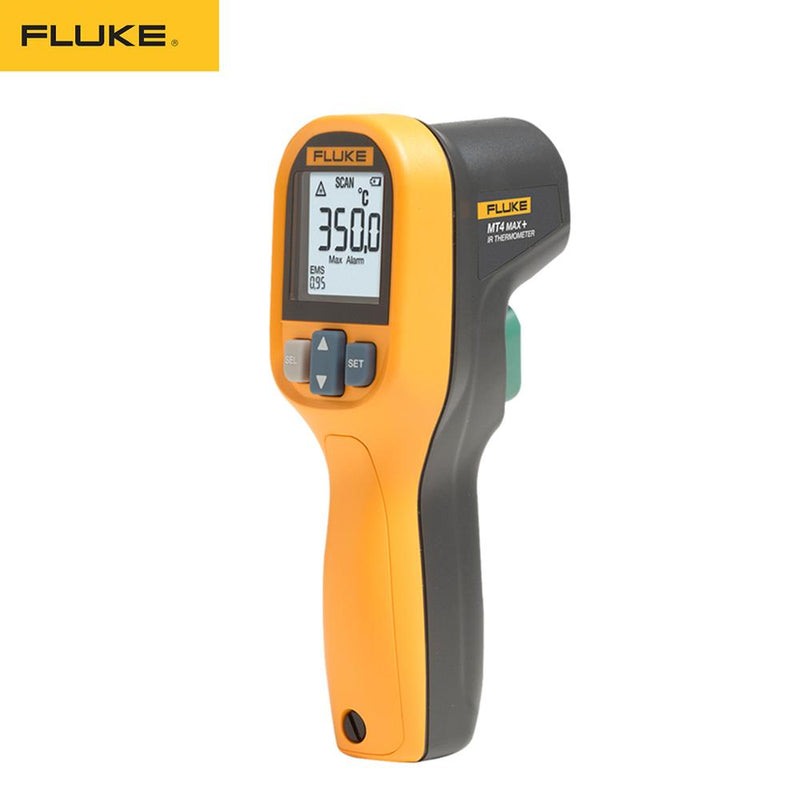 FLuke MT4 MAX IP40 Waterproof Infrared Thermometer -30-350℃(-22~752℉) with High/Low Temperature Alarm