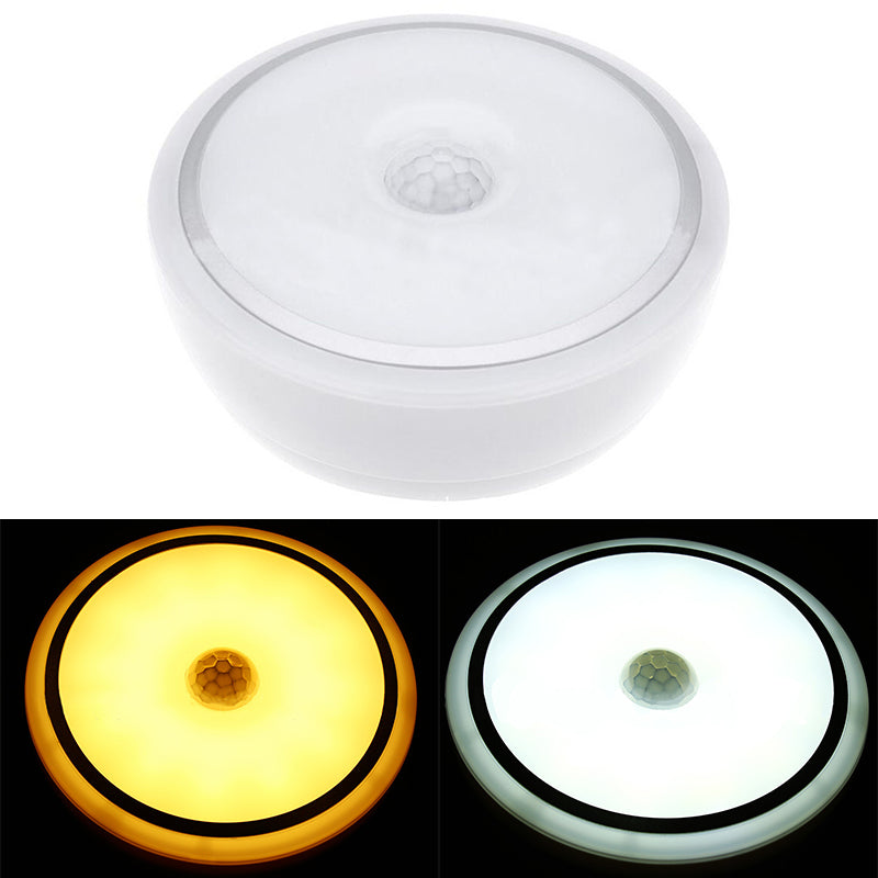 2019 Newest 12W LED PIR Motion Sensor Infrared Ceiling Lamp Down Light Flush Mounted Fixture