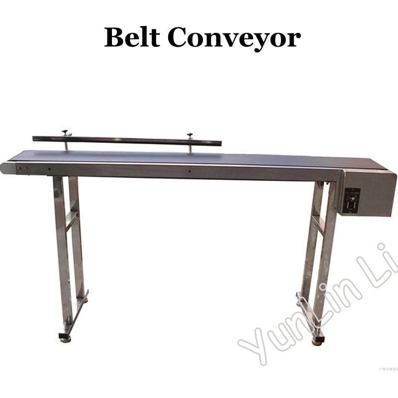 Belt Conveyor Customized Band Carrier for Bottles/ Food/ Products 1m-2m Customized Moving Belt Rotating Table SYB-01