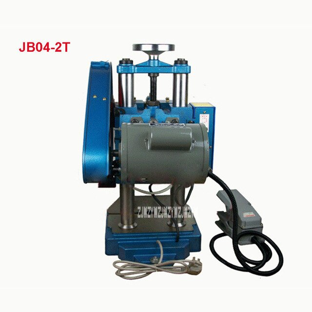 Electric Punching Machine Pedal Manual Dual-purpose Punching Press Desktop Punching Machine JB04-3T 220V/380V 0.65Kw (320*300mm)