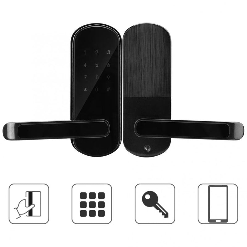 Electronic Smart Bluetooth Wifi Wireless APP Card Password Door Lock Digital Keypad Touch Smart Door Lock no Battery