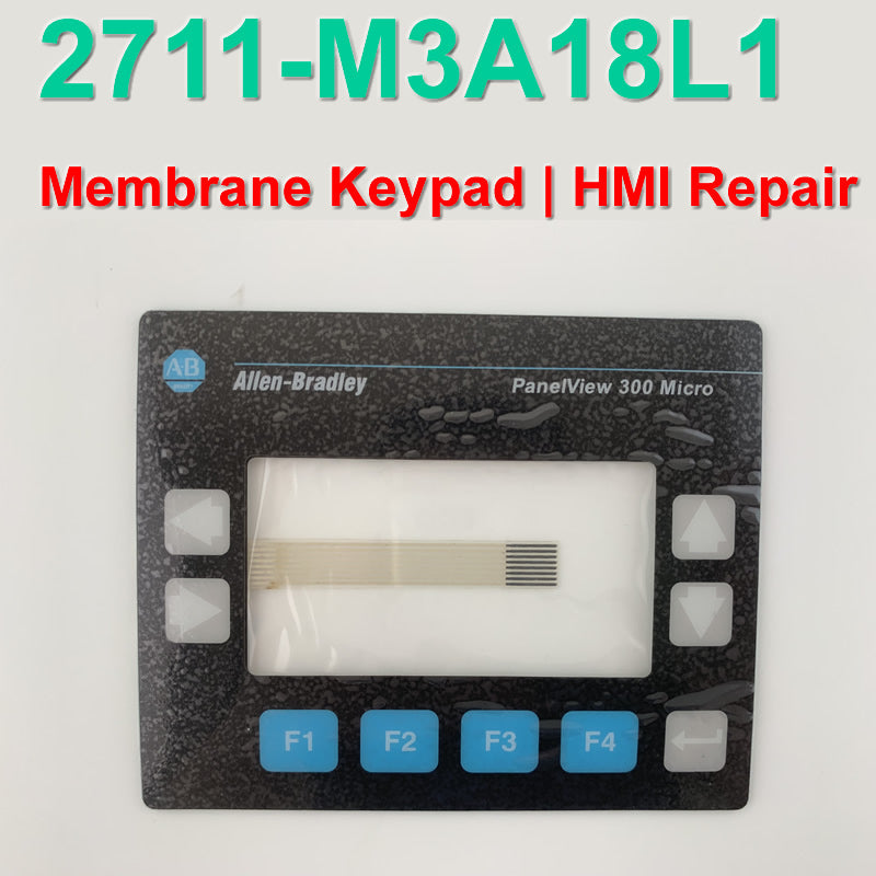 2711-M3A18L1 membrane keyboard for Allen Bradley PanelView 300 Micro series, FAST SHIPPING