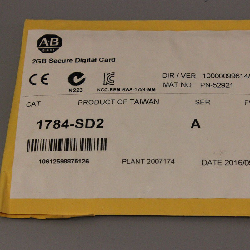 1784-SD2 1784SD2 Allen-Bradley,NEW AND ORIGINAL,FACTORY SEALED,HAVE IN STOCK