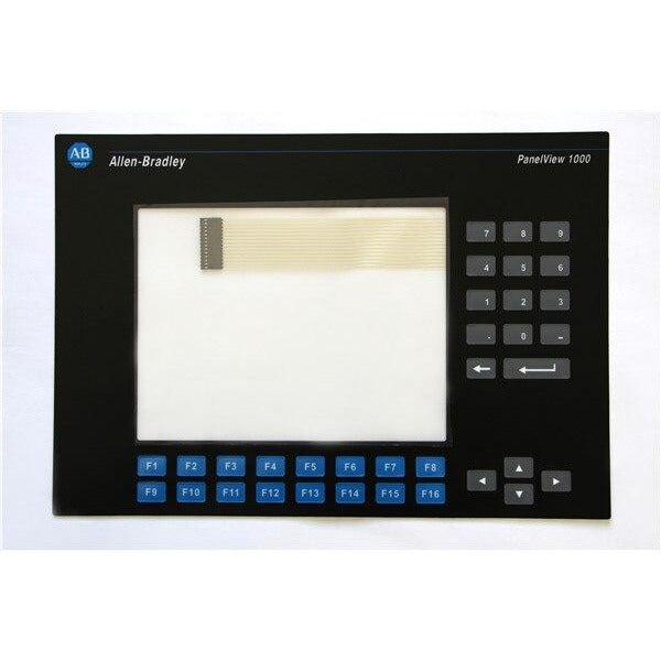 ALLEN BRADLEY 2711-K10C PANELVIEW 1000 SCREEN OVERLAY REPLACEMENT 2711-K10G, HAVE IN STOCK