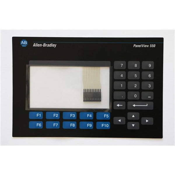 ALLEN BRADLEY 2711-K5A PANELVIEW 550 KEYPAD AND TOUCH GLASS REPLACEMENT 2711-K5A1 OVERLAY, HAVE IN STOCK