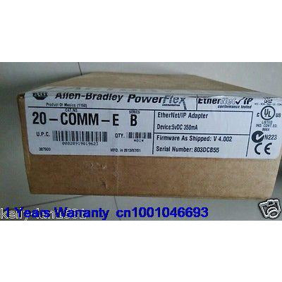 DHL/EUB 1PC AB Allen Bradley EtherNet/IP Adapter 20-COMM-E NEW   15-18