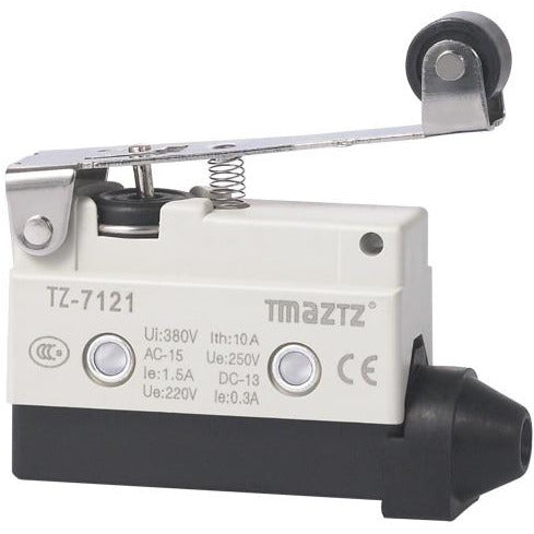 Rubber roller long lever mini Limit Switch omron limit switch TZ 7121 D4MC-2000 XCJ-128