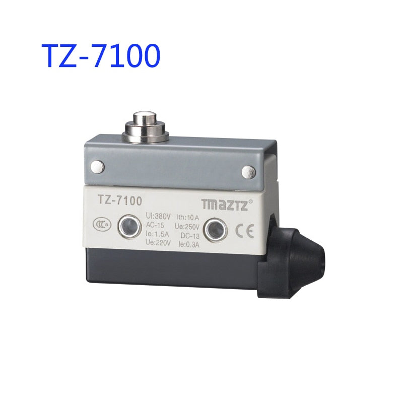 10A/250VAC approved pin plunger type limit switch miniature limit switch omron limit switch TZ CZ 7100