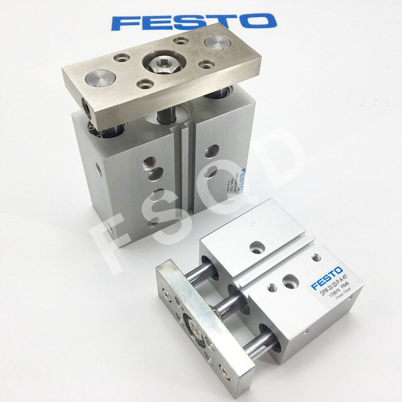 FESTO Guided drives cylinder DFM-40-25-P-A-KF DFM-40-30-P-A-KF DFM-40-40-P-A-KF DFM-40-50-P-A-KF DFM-40-75/100-P-A-KF
