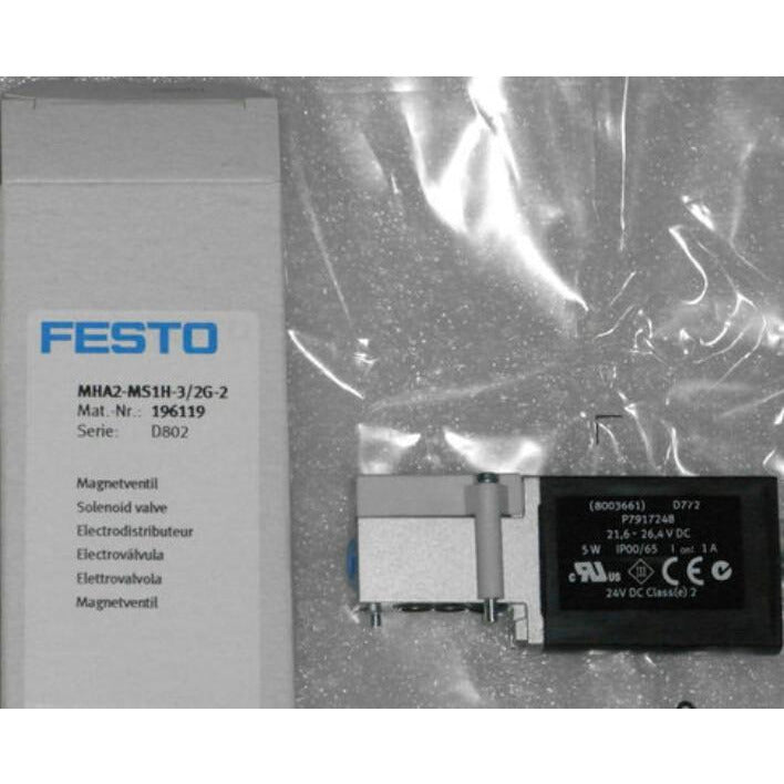MHA2-MS1H-3/2G-2 196119  solenoid valves  body  FESTO without Coil free shipping