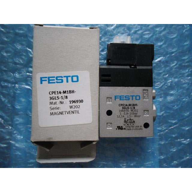 PE14-M1BH-3GLS-1/8 196930 solenoid valves  body  FESTO without Coil free shipping