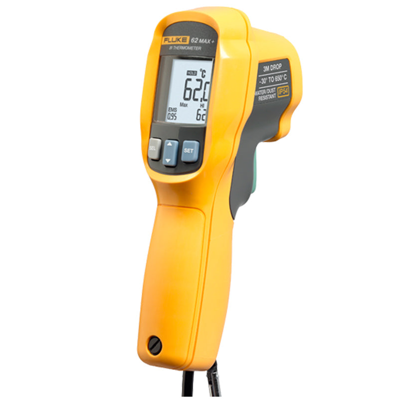 Fluke 62MAX+ non-contact high-precision infrared thermometer handheld electronic thermometer industrial thermometer