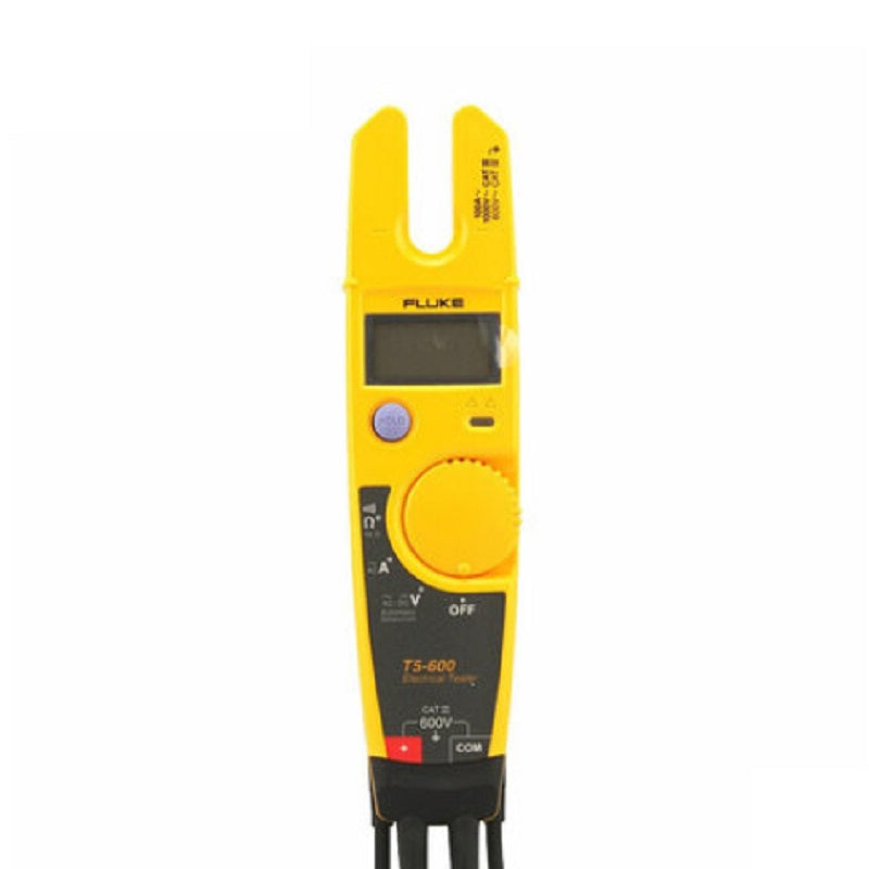 Fluke T5-600 Voltage Continuity Tester High Precision Open Clamp Meter Multimeter Easy To Carry Digital Clamp Meter