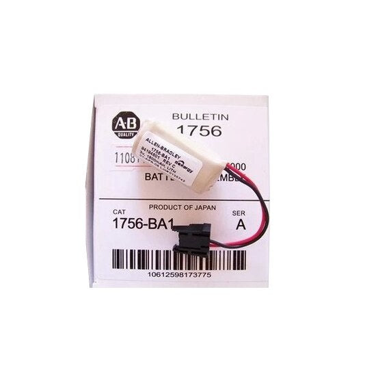 For Allen Bradley Control Logix PLC Battery 1756-BA1 1756-L1 1756-L1M1 1770-XYC/A 1770-XYB CPU Battery+Plug Free Tracking