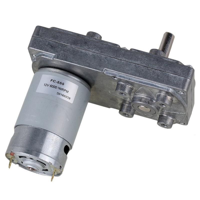 6000RPM Square High Torque Speed Reduce 12V Electric DC Gear Motor with Metal Geared Box