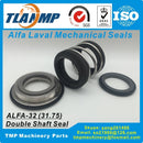 ALFA-32D Double Shaft Seals, Mechanical Seals for Alfa Laval LKH pumps (Material:CA/SIC/EPDM, SIC/SIC/EPDM) Shaft size 31.75mm