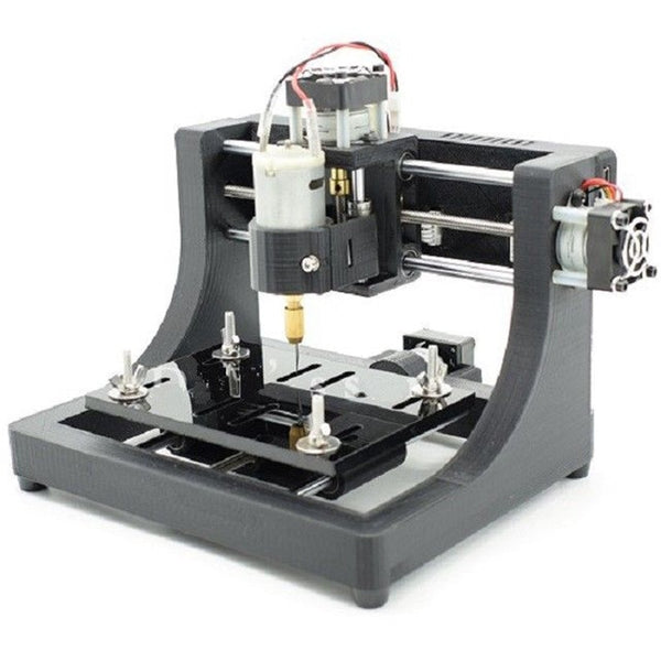 High Quality Durable 1208 3-axis Mini DIY CNC Router Wood Carving PCB Milling Engraving Machine Engraver 120x80x16mm