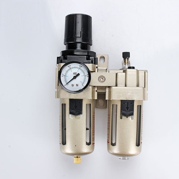 AC4010-04D G1/2'' SMC Automatic Drain type air filter  pneumatic components gas source processor two joint oil-water separator