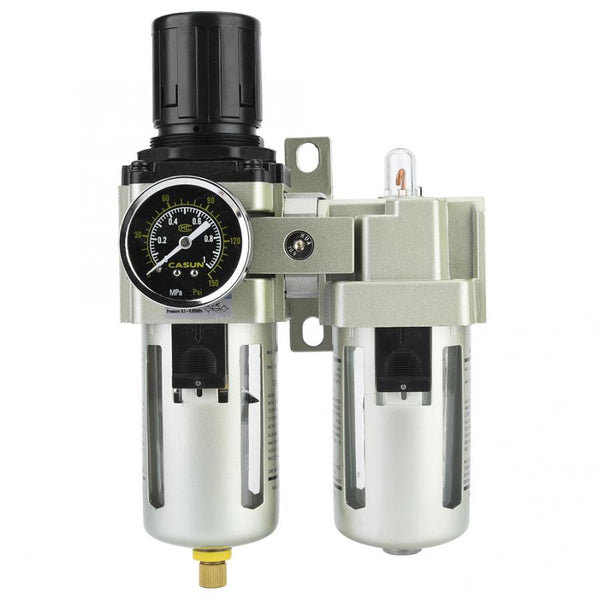 AC4010-06 SMC Type Air Pressure Compressor Filter Oil Water Regulator Tools Kit  Pneumatic Valve