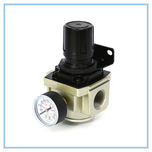 SMC Pneumatic Air Pressure Regulator AR2000-02 AR3000-03 AR4000-04 Thread 1/4 inch oil-water separator pressure reducing valve