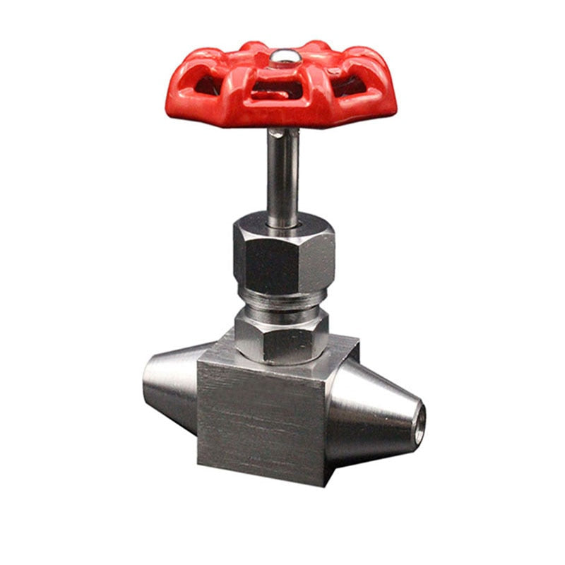 DN6  High Pressure Stainless Steel  Needle Valve, SS304 Butt Welded Needle Valve, Needle Globe Valve Flow Control
