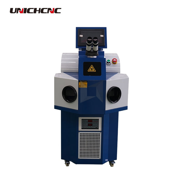 High performance mini spot robot laser welding machine for stainless steel jewelry italy