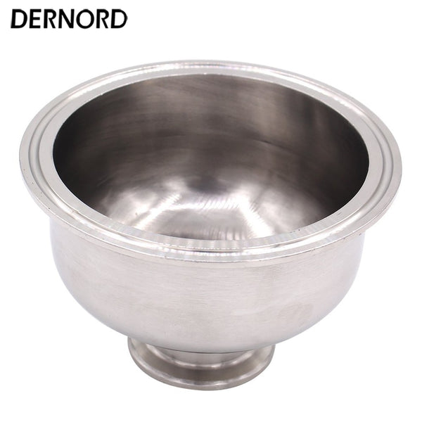 DERNORD 1.5'' to 4'' Tri Clamp Bowl Reducer, Sanitary Fitting Stainless Steel 304, Hemispherical Tri-clamp Reducer