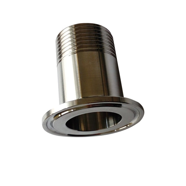 "1/2"" DN15 Sanitary Male Threaded Ferrule Pipe Fitting Tri Clamp Stainless Steel SS304 STF-DN15"