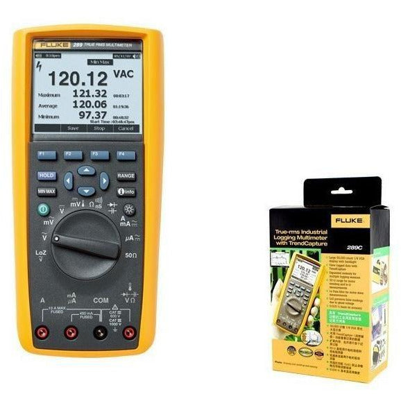 Fluke F289C Multimeter True-rms Industrial Logging with TrendCapture tester