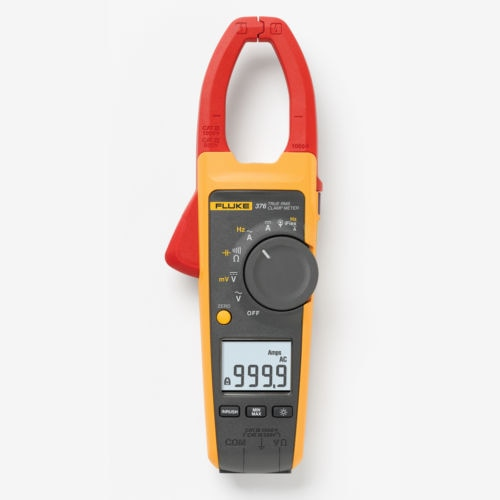 l Fluke F376 True-RMS 1000A AC/DC Clamp Meter with iFlex replace