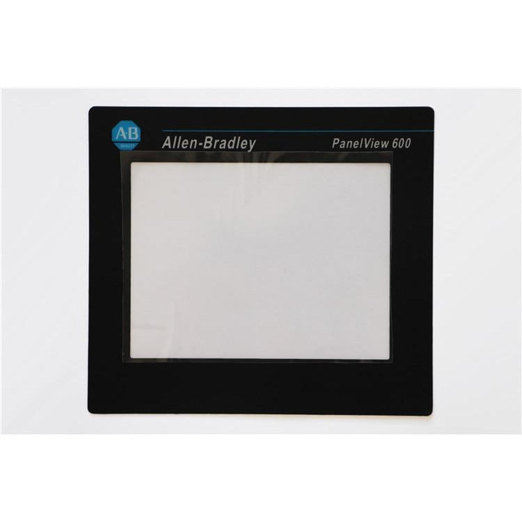ALLEN BRADLEY 2711-T6C PANELVIEW 600 TOUCH SCREEN WITH GLASS REPLACEMENT COVER 2711-T6C OVERLAY, HAVE IN STOCK