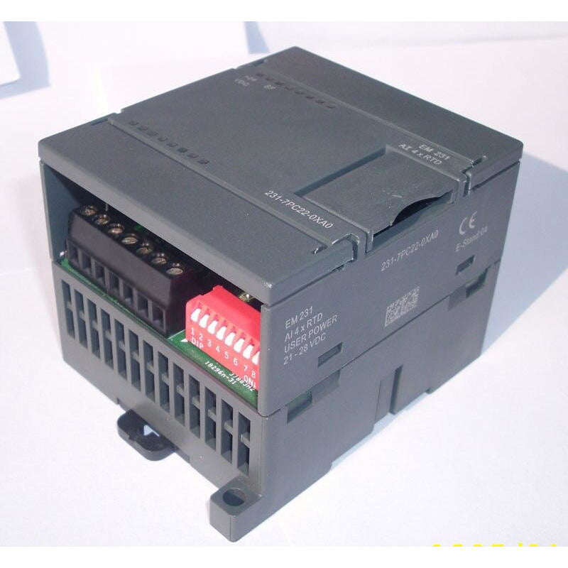 Thermal resistance module EM231-RTD4,6ES7 231-7PC22-0XA8 ,compatible with S7-200 plc,4 RTD inputs