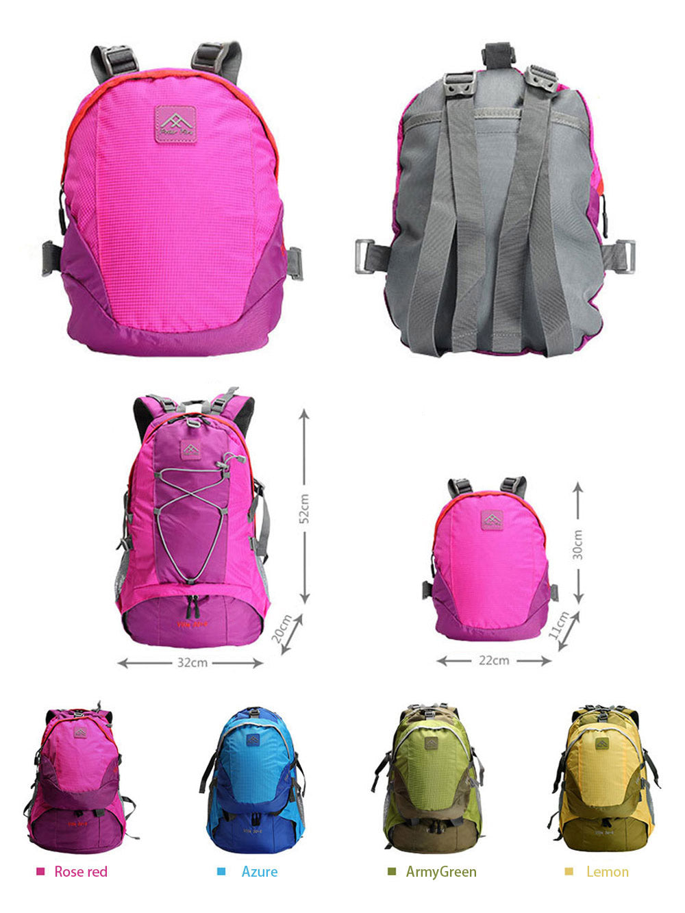 Mountain-Roar-40L-Backpack-Set-Water-Resistant-Anti-Tearing-Bag